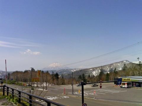 中山峠から見た景色